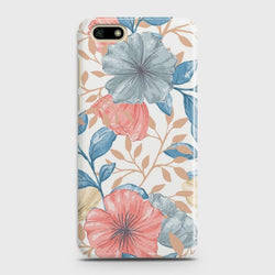 HUAWEI Y5 PRIME 2018 Seamless Flower Case