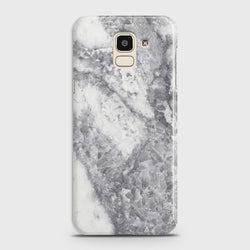 SAMSUNG GALAXY J6 (2018) Real Crystals Marble Case