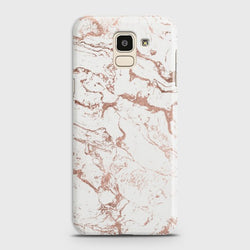 SAMSUNG GALAXY J6 (2018) Chick RoseGold Marble Case