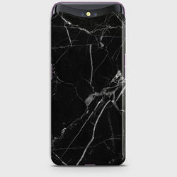 OPPO FIND X Black Classic Marble Case