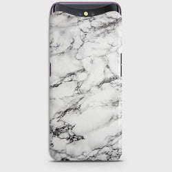 OPPO FIND X Trendy White Marble Case