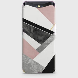 OPPO FIND X Geometric Luxe Marble Case