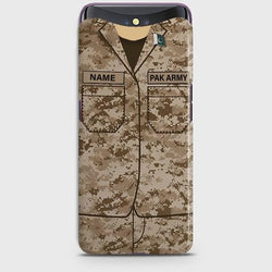 OPPO FIND X Army Costume With Custom Name Case