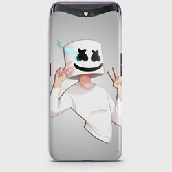 OPPO FIND X Marshmello Face Case