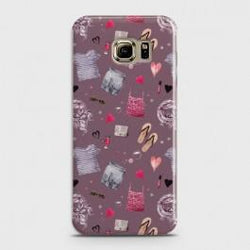 SAMSUNG GALAXY S6 EDGE Casual Summer Fashion Design Case