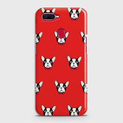 OPPO F9 BOSTON TERRIER RED Case