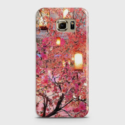 SAMSUNG GALAXY NOTE 5 Pink blossoms Lanterns Case