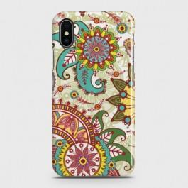 IPHONE XS MAX Seamless Paisley Flowers Case