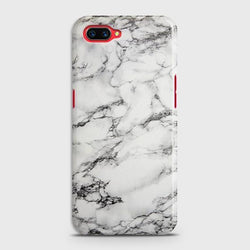 OPPO A5 Trendy White Marble Case