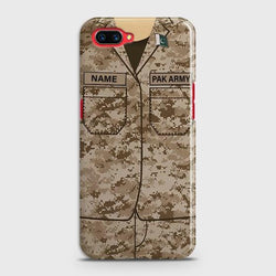 OPPO A5 Army Costume With Custom Name Case