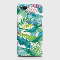 OPPO A5 Retro Palm Leaves Case