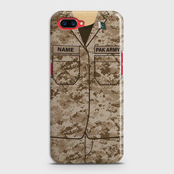 Oppo A3s Army Costume Case