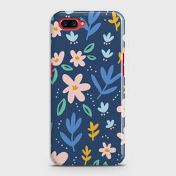 Oppo A3s Colorful Flowers Case
