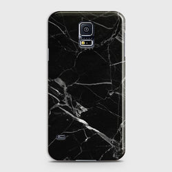 SAMSUNG GALAXY S5 Black Marble Classic Case
