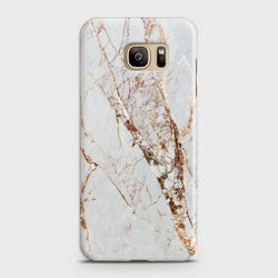 SAMSUNG GALAXY NOTE 7 White & Gold Marble Case