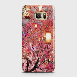 SAMSUNG GALAXY NOTE 7 Pink blossoms Lanterns Case