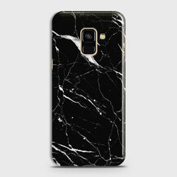 SAMSUNG GALAXY A6 (2018) Trendy Black Marble Case