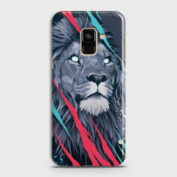 SAMSUNG GALAXY A6 (2018) Abstract Animated Lion Case