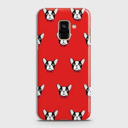 SAMSUNG GALAXY A6 (2018) BOSTON TERRIER RED Case