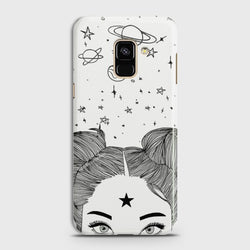 SAMSUNG GALAXY A6 (2018) Space Girl Case