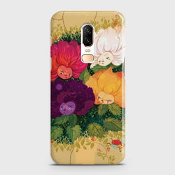 ONEPLUS 6 Sparkel Flower Eye Candy Case