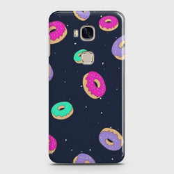 HUAWEI HONOR 5X Colorful Donuts Case