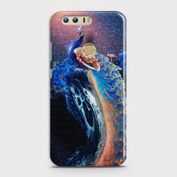 HUAWEI HONOR 8 Peacock Diamond Embroidery Case