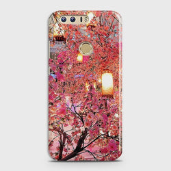 HUAWEI HONOR 8 Pink blossoms Lanterns Case