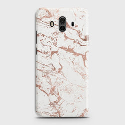 HUAWEI MATE 10 Chick RoseGold Marble Case