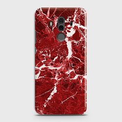 HUAWEI MATE 10 PRO Deep Red Marble Case