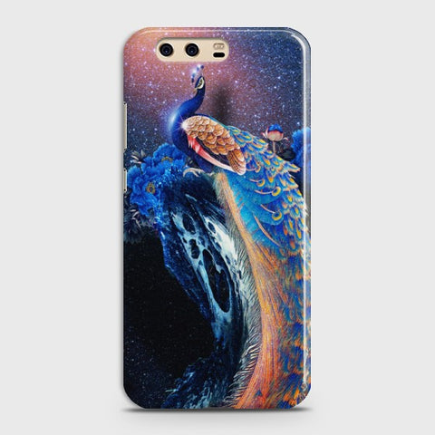 HUAWEI P10 Peacock Diamond Embroidery Case