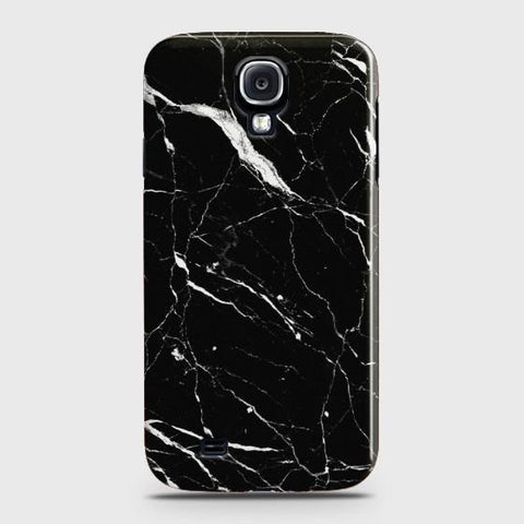 SAMSUNG GALAXY S4 Trendy Black Marble Case