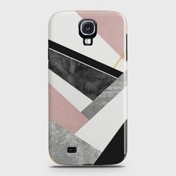 SAMSUNG GALAXY S4 Geometric Luxe Marble Case