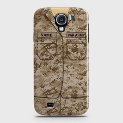 SAMSUNG GALAXY S4 Army Costume With Custom Name Case