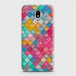 SAMSUNG GALAXY J3 (2018) Colorful Mermaid Scales Case