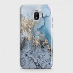 SAMSUNG GALAXY J4 Golden Blue Marble Case