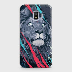 SAMSUNG GALAXY J4 Abstract Animated Lion Case