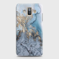 SAMSUNG GALAXY J7 DUO (2018) Golden Blue Marble Case