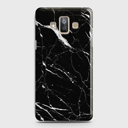 SAMSUNG GALAXY J7 DUO (2018) Trendy Black Marble Case