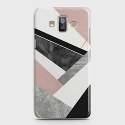 SAMSUNG GALAXY J7 DUO (2018) Geometric Luxe Marble Case