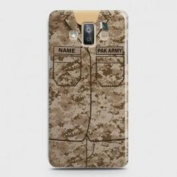 SAMSUNG GALAXY J7 DUO (2018) Army Costume With Custom Name Case