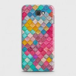 SAMSUNG GALAXY J7 PRIME 2 Colorful Mermaid Scales Case