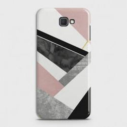 SAMSUNG GALAXY J7 PRIME 2 Geometric Luxe Marble Case