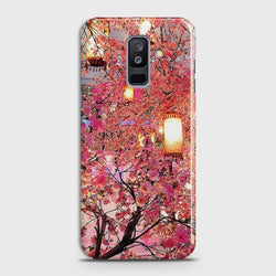 SAMSUNG GALAXY J8 2018 Pink blossoms Lanterns Case