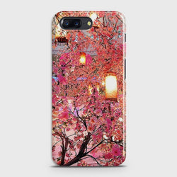 ONEPLUS 5 Pink blossoms Lanterns Case
