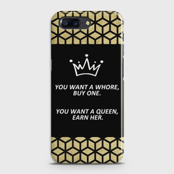 ONEPLUS 5 You Want A Queen Earn Her Case