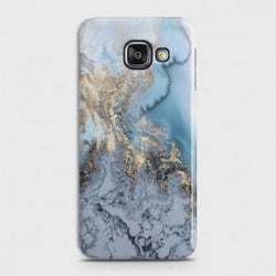 SAMSUNG GALAXY J7 MAX Golden Blue Marble Case