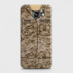 SAMSUNG GALAXY J7 MAX Army Costume With Custom Name Case