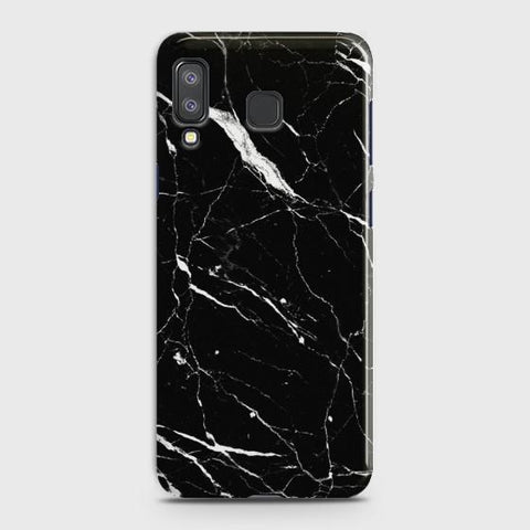 SAMSUNG GALAXY A8 STAR(A9 STAR) Trendy Black Marble Case