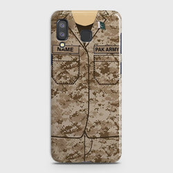 SAMSUNG GALAXY A8 STAR(A9 STAR) Army Costume With Custom Name Case